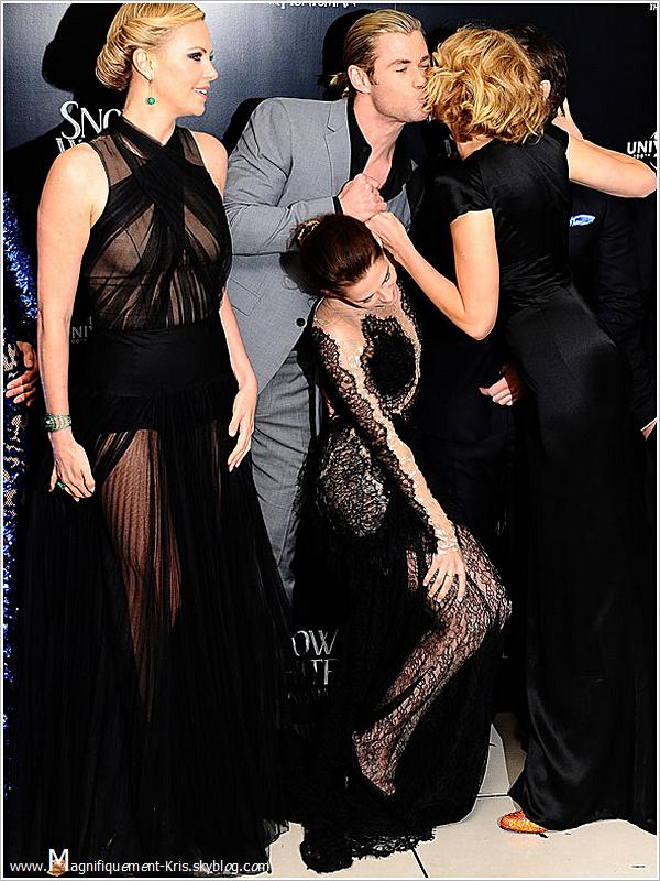 """Elle n'aurait pas été là, ça aurait été pareil. """"Kristen Stewart la potiche?"""" Mais nooon!"""