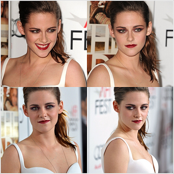 Elle jongle totalement entre la promotion de Breaking Dawn part 2 et On the Road.