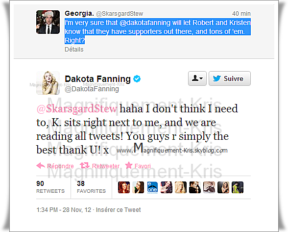 Le retour de Dakota Fanning & Kristen Stewart? Oui oui oui, Dakota vient de le dire !