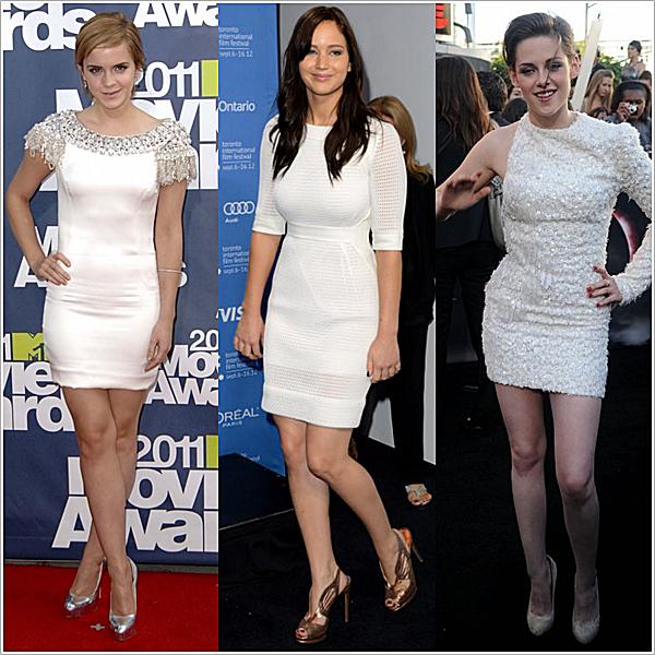 Elles ont en commun le fait d'être toutes les 3 le personnage principal féminin d'une Saga mais aussi...