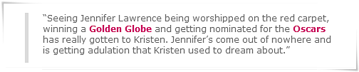 Kris Stewart se met Jennifer Lawrence, Jennifer Aniston et Katy Perry à dos !