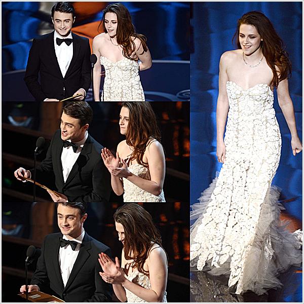 Telle une sirène, Kristen s'est rendue aux Oscars en... BÉQUILLES.