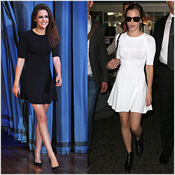 Sondage | Qui porte le mieux cette superbe robe? Watson? Stewart? Dites-moi.