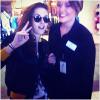 Kristen Stewart a été surprise par une fan à l'aéroport. Elle arrivait dans le Nevada.  31'05'2013