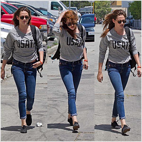 C'est avec des rêves plein la tête qu'elle s'est rendue à un RDV dans Los Angeles.  13'06'2013