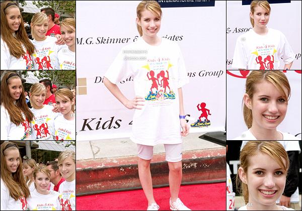 30/04/2006 : Em' Roberts s'est rendue à la première édition du Kids 4 Dids 5k Run/Walk dans - Los Angeles.