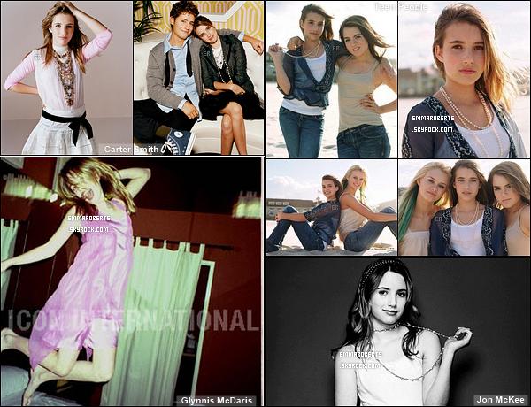 ✿ Partie 1 - Découvrez quelques photoshoot d'Emma réalisés durant l'année 2005.