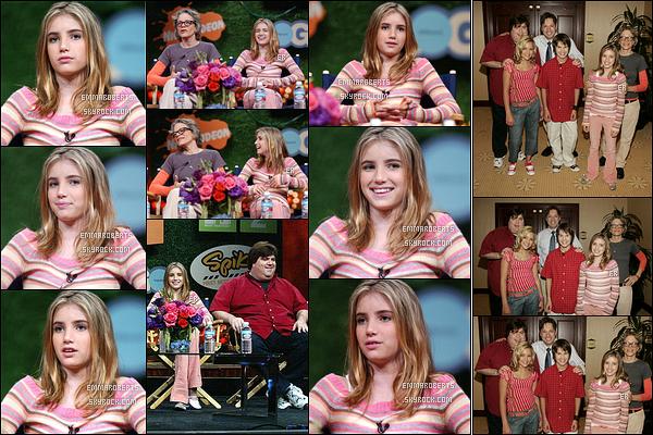 23/07/2004 : Emma s'est d'abord rendue au troisième jour du TCA Tour Cable, puis aux MTV Networks TCA.