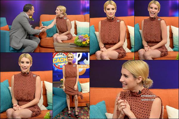 13/07/16 : Emma était l'invitée de l'émission Despierta America afin de promouvoir son film Nerve, à Miami. Emma finit son séjour dans l'état de la Floride au cours de cette émission où elle nous parle encore une fois du film Nerve. J'ai hâte ![/font=Arial]