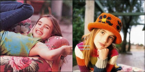 Découvrez un photoshoot d'Emma, enfant, que Dorothy Low a réalisé en 2001.