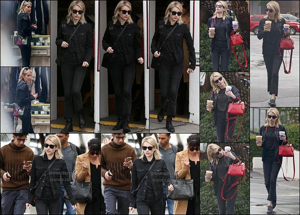 05/01/17 : Emma et sa meilleure amie Lea Michele ont été vues faisant du shopping dans West Hollywood. Je n'aime pas du tout la tenue pour laquelle Emma a opté. C'est dommage, on sait qu'elle peut faire mieux. Un flop ! Et pour vous ?[/font=Arial]