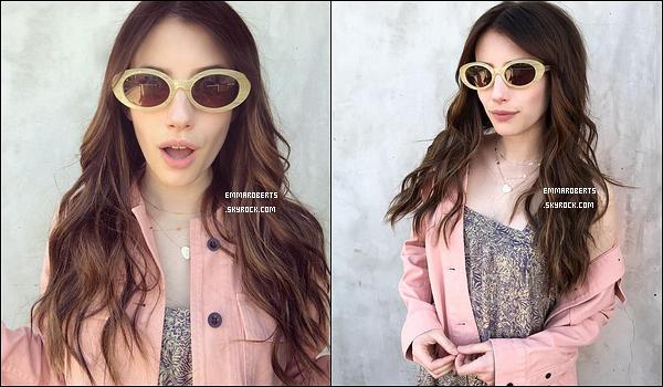 Découvrez une photo postée par Emma et une autre par Nikki Lee sur Instagram. En effet, Emma R. s'est rendue au salon Nine Zero One afin de se faire poser des extensions. Ainsi, elle est prête pour le festival Coachella !