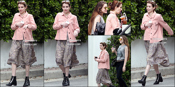 08/04/17 : Emma, Grace et leur mère ont été aperçues durant leur séance shopping, dans West Hollywood. On peut voir qu'Emma a fait des achats. Serait-ce une tenue qu'elle portera au festival Coachella ? Réponse dans quelques jours.[/font=Arial]