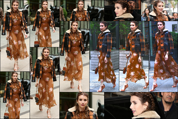 24/04/17 : Emm' a été vue se rendant aux 39th Annual American Image Awards sur 583 Park Avenue. (NY) Tout d'abord, j'adore la coiffure qu'elle arbore ainsi que son maquillage. Cependant, je suis d'avis mitigée pour la robe ! Et vous ?[/font=Arial]