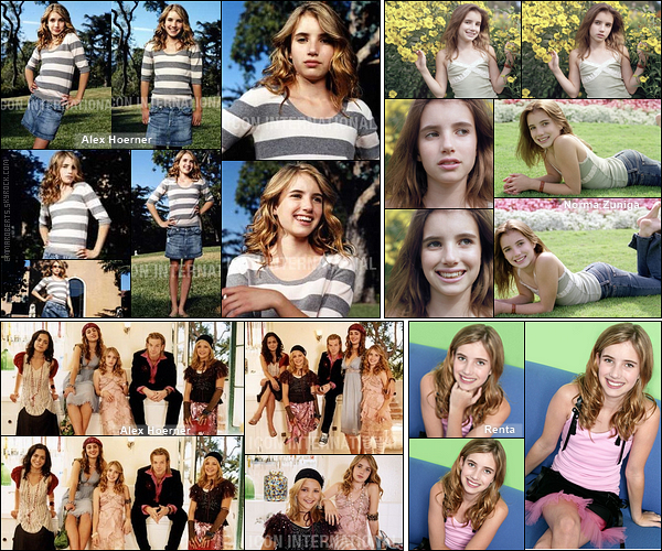 ✿ Partie 2 - Découvrez quelques photoshoot d'Emma réalisés durant l'année 2004.