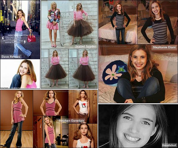 ✿ Partie 1 - Découvrez quelques photoshoot d'Emma réalisés durant l'année 2004.