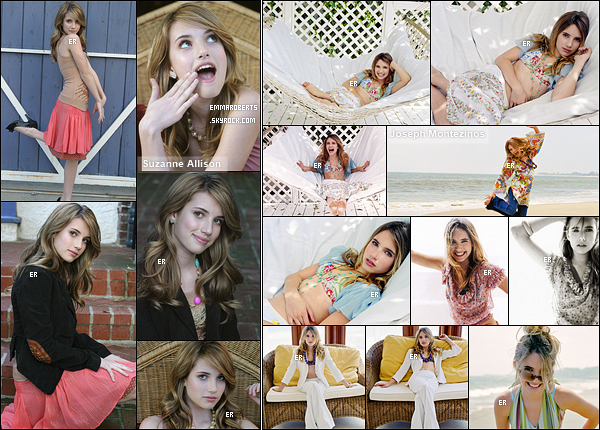 ✿ Partie 2 - Découvrez quelques photoshoot d'Emma réalisés durant l'année 2005.