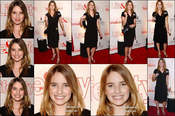26/05/2005 : Emma a posé sur le red-carpet d'un événement organisé par le magazine Life & Style, dans Los A.