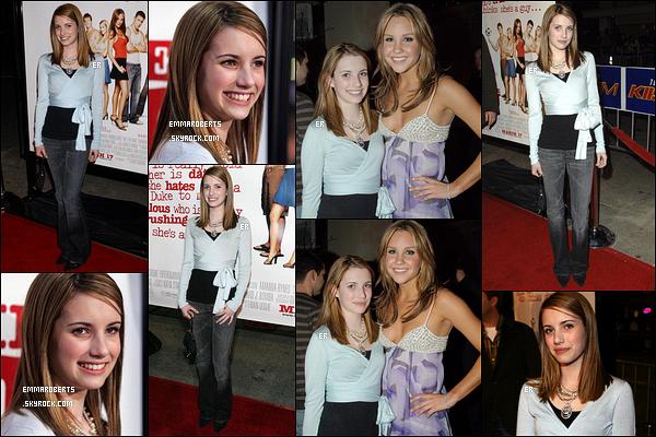 08/03/2006 : Emma s'est rendue à la première de She's The Man et a posé avec Amanda Bynes, à Los Angeles.