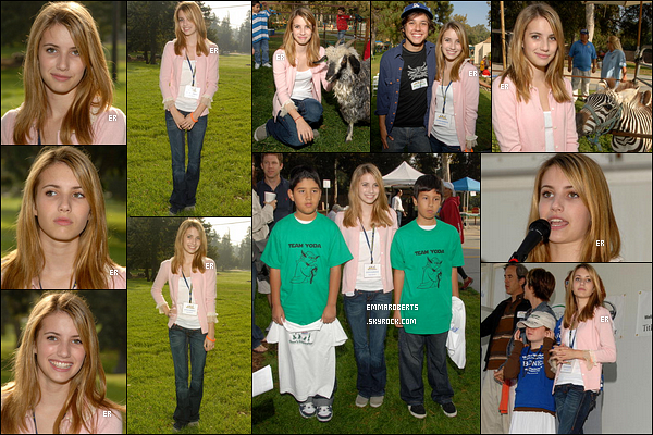 10/10/2006 : Miss Emma s'est rendue au 9th Annual Shane's Inspiration Walk - Fun - Roll, dans Los Angeles.