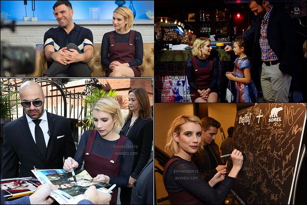 10/09 - Le cast de Who We Are Now a réalisé des interview pour différents médias.