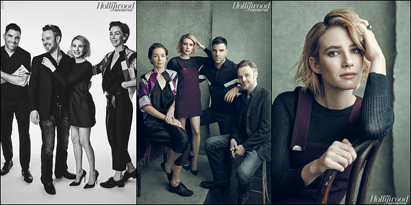 Et ils ont réalisé un shoot ensemble et des portraits pour Hollywood Reporter.