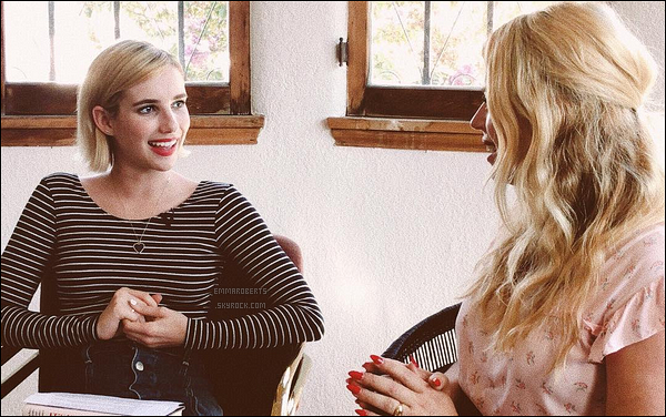 Emma et Kara ont interviewé une auteure, Amanda De Cadenet, pour leur club. Comme vous le savez, chaque mois un livre est choisi et les deux femmes organisent un entretien avec l'auteur(e) en question... Excellente idée !