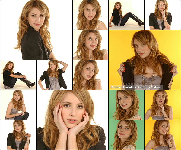 ✿ Partie 4 - Découvrez un autre photoshoot d'Emma réalisé durant l'année 2007.
