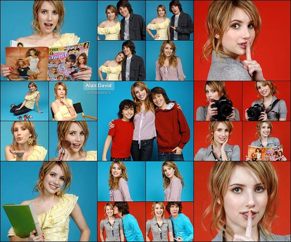 ✿ Partie 7 - Découvrez le dernier photoshoot d'Emma réalisé durant l'année 2007.