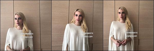 ✿ Ce 02/11, Emma s'est rendue à un évént organisé pour Belletrist, à San Francisco.