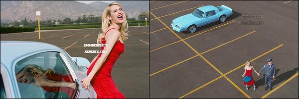 ✿ Emma apparaît dans le petit clip intitulé The Bogey réalisé par la marque Prada.