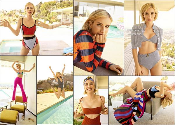 ✿ Emma apparaît dans le magazine Shape US pour le mois de Décembre 2017 !