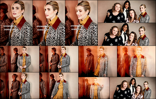 • Emma et ses co-stars ont réalisé des portraits pendant le Sundance Film Festival. Je suis en admiration devant les clichés. Emma est sublime, je suis fan de sa coiffure et de son maquillage. De plus, j'ai hâte de voir le film ! - Des avis ?