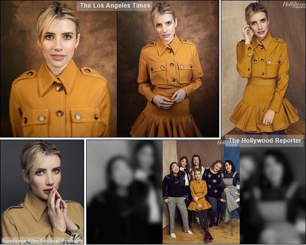 • Découvrez des portraits d'Em' et ses co-stars pendant le Sundance Film Festival. Je suis en admiration devant les clichés. Emma est sublime, je suis fan de sa coiffure et de son maquillage. De plus, j'ai hâte de voir le film ! - Des avis ?