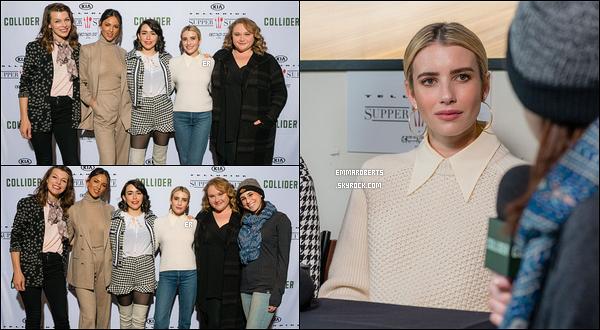 27/01/19 : Emma Rob et ses co-stars ont donné une interview pour Variety durant le Sundance Film Festival. La promotion du film dans lequel Emma détient l'un des rôles principaux continue en ce second jour. Elle est sublime, c'est un - top ![/font=Arial]
