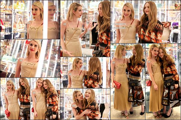 07/02/19 : Emma s'est rendue à une soirée privée organisée par la marque de vêtements italienne Fendi, à NY. L'actrice est donc à New York afin d'assister à la Fashion Week... Je sens que les news vont se mettre à pleuvoir ! Sa robe est jolie.[/font=Arial]