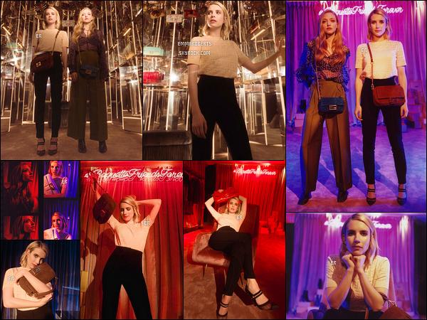 • Em et Amanda Seyfried pour la campagne Fendi #BaguetteFriendsForever.