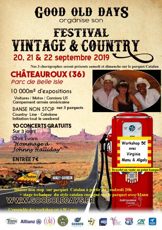 Grand FESTIVAL Country - Catalan & Line de CHÂTEAUROUX (36)