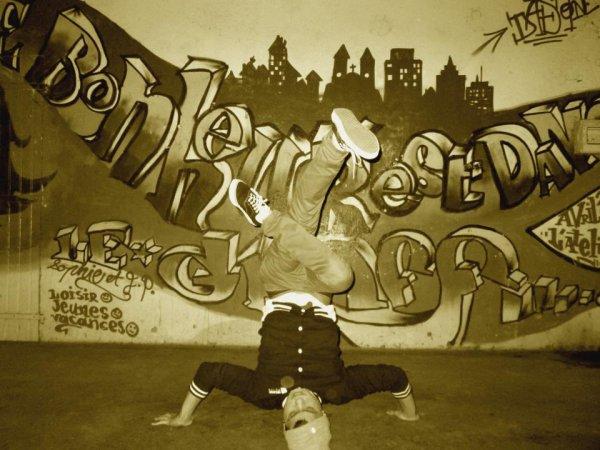 Le Break -dance toute ma vie !!