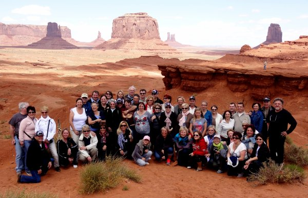 VENDREDI 27 AVRIL - MONUMENT VALLEY/ANTELOPE CANYON
