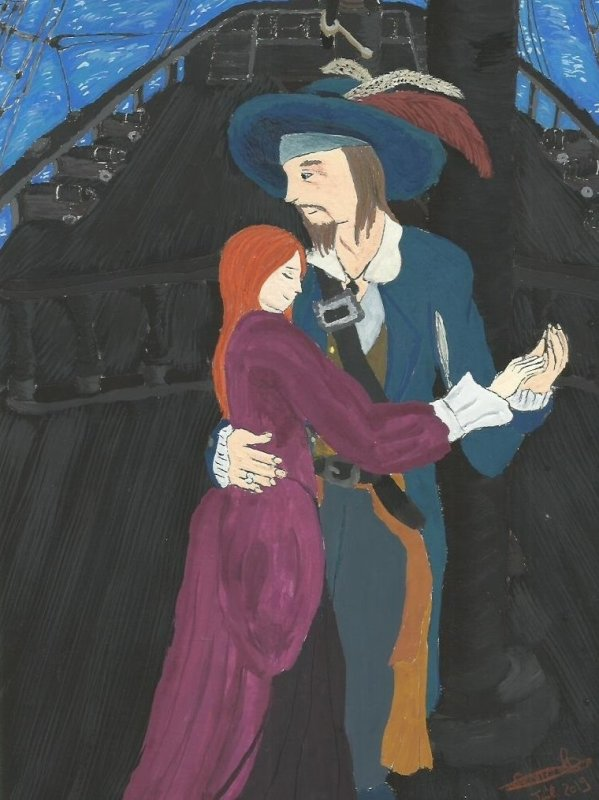O.S. Pirates des Caraïbes: Barbossa x Marina