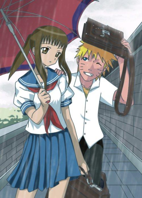 Océane et Naruto