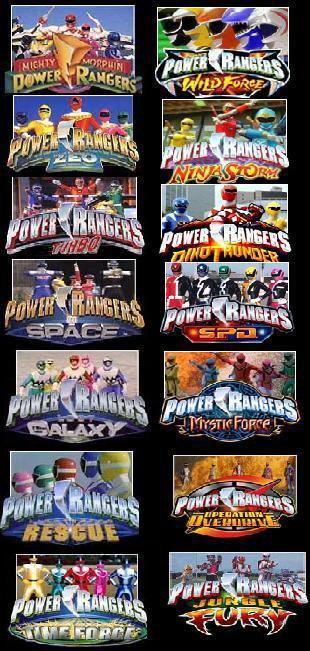 Power Ranger Morphs
