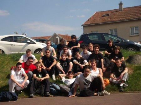 Parkour Day - Saint - Dizier - Samedi 16 et dimanche 17 avril 2011