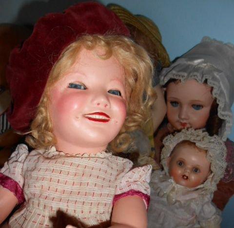 Ancienne poupée en composition de 47 cm marquée 1448/2 Made in ? Encore une inconnue pour moi !