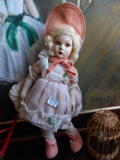 Ancienne poupée espagnole N.A.T.I  Madrid  25cm.