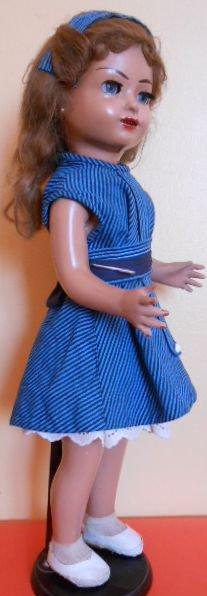 Ancienne poupée espagnole de 1953 : SISSI fabriquée par  les industries LEB
