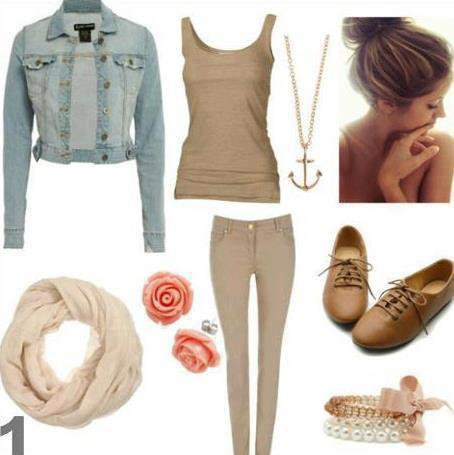 look simple et chic :3