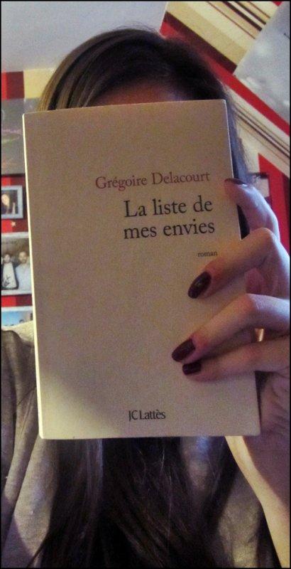 Lecture #3 La liste de mes envies de Grégoire Delacourt