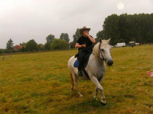 ma fille et son cheval satan